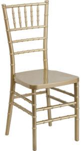 Chiavari Chair-Gold