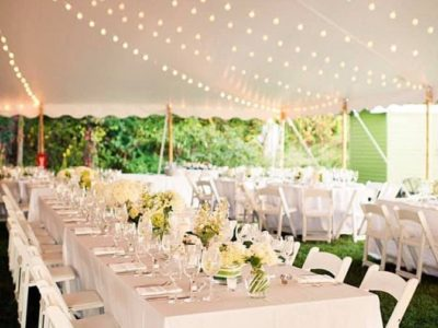 Tent,Tables and Chairs