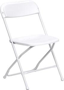 Folding Chair-White