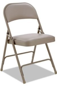 Chair Padded Tan